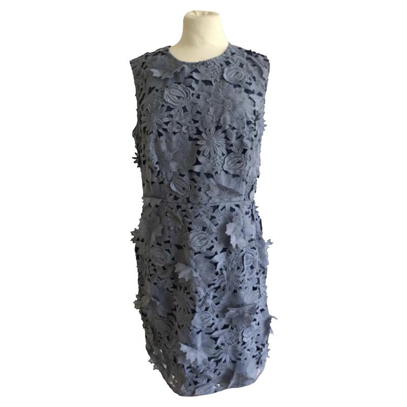 French Connection Kleider aus Polyester Blau Größe 10