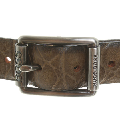 Hugo Boss Belt with reptile embossing