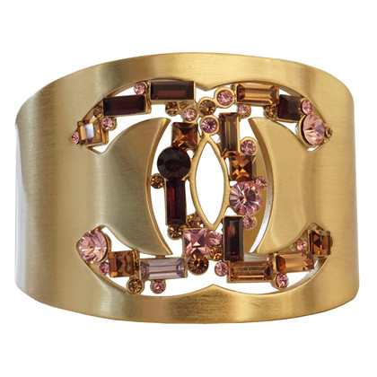 Chanel Bangle with CC rhinestone logo