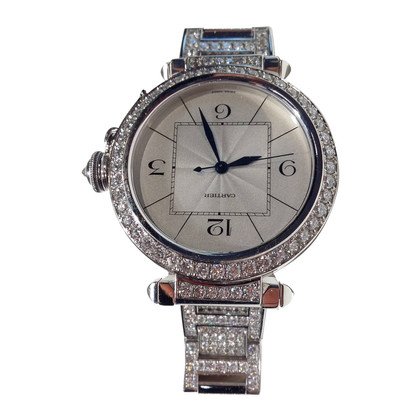 "Cartier White ""Pasha"" watch"
