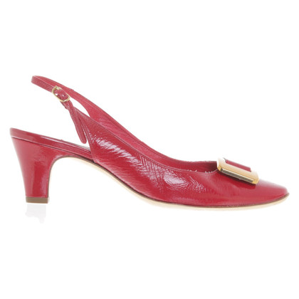 L'autre Chose Slingbacks in red