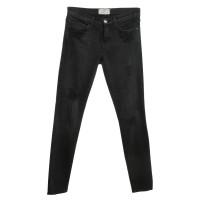 Current Elliott Destroyed Jeans in zwart