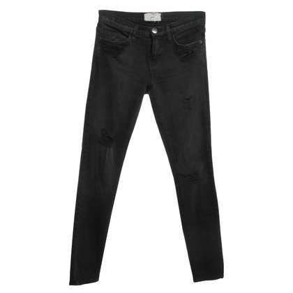 Current Elliott Destroyed Jeans in Schwarz