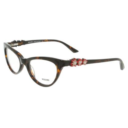 Missoni Brille in Braun