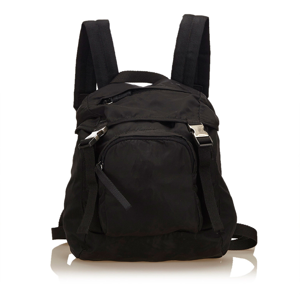 prada rucksack in schwarz second hand prada rucksack in. Black Bedroom Furniture Sets. Home Design Ideas