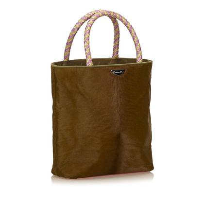 Christian Dior Handbag with pony fur trim