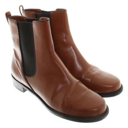 Bally Bottes Chelsea à Brown