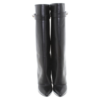 "Givenchy Stiefel ""Shark Lock"" in Schwarz"