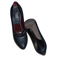 Loewe pumps lizard leather