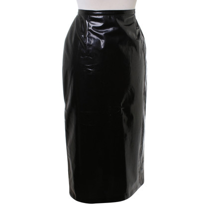 D&G Patent leather skirt in black
