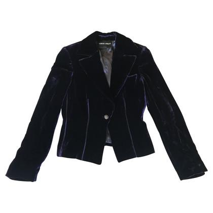 Giorgio Armani Velvet suit