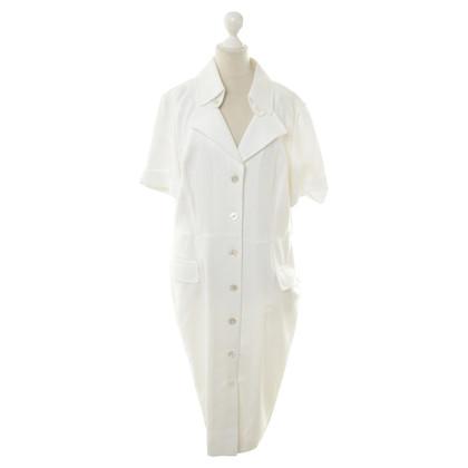 Escada Shirt dress in white