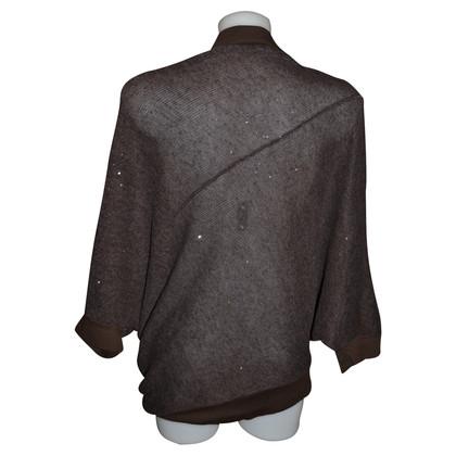 Brunello Cucinelli Cape of linen-silk-mix