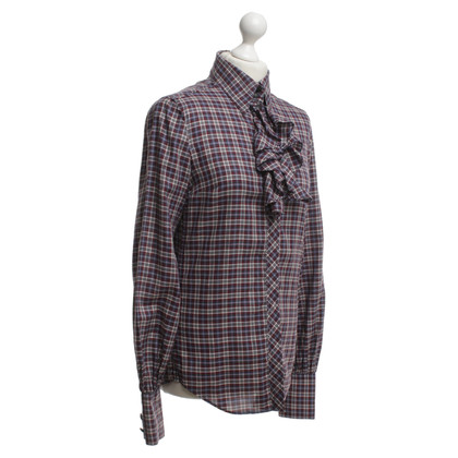 Drykorn Blouse with check pattern