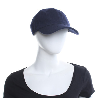 American Vintage Cap en bleu foncé