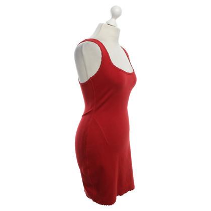 Alaïa Kleid in Rot