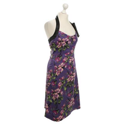 Karen Millen Halter jurk met een bloemmotief