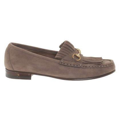 Gucci Loafer in Taupe