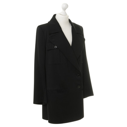 Ann Demeulemeester Short coat in black