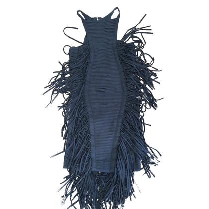 Herve Leger Dress with fringes