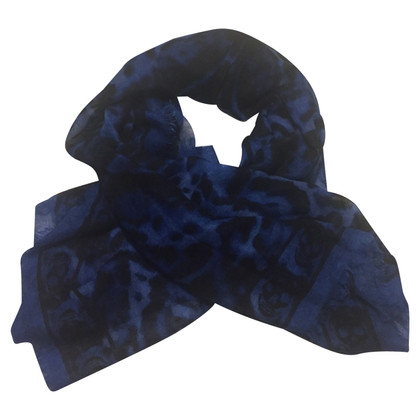 Alexander McQueen Scarf with skull print