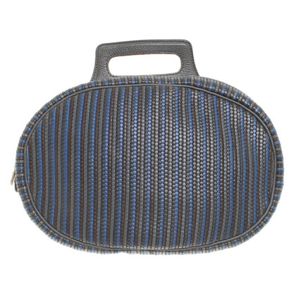 Delvaux Backpack with stripe pattern