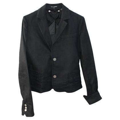 Karl Lagerfeld Zwarte jas