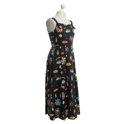 Moschino Sommerkleid mit Muster