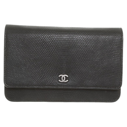 Chanel Monitor lizard leather small bag