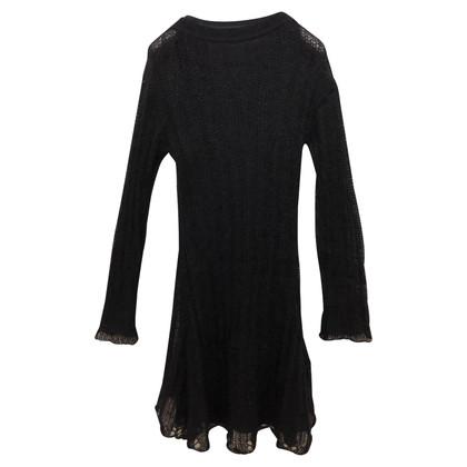Ermanno Scervino Transparante gebreide jurk