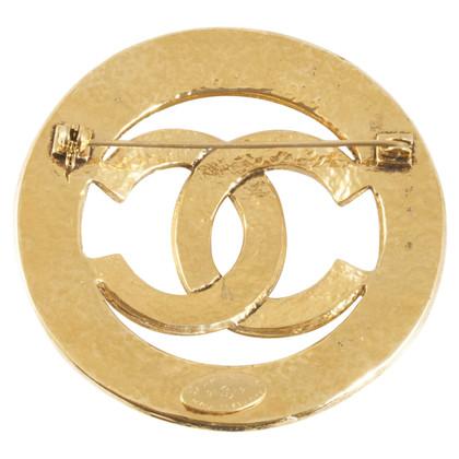 Chanel Gouden broche