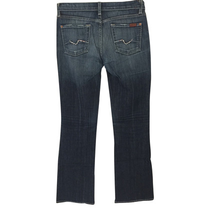 7 For All Mankind jean bootcut avec application strass