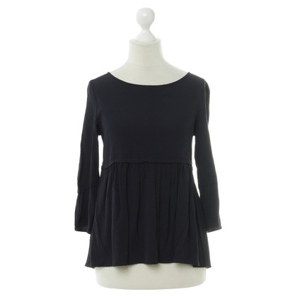 Bash Top in blauw