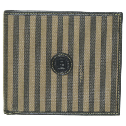 Fendi Wallet with stripes