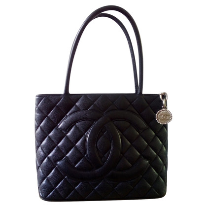 Chanel Tote Bag from caviar leather