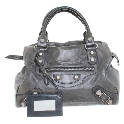 """Balenciaga """"Classic City Bag"""" in Grau"""
