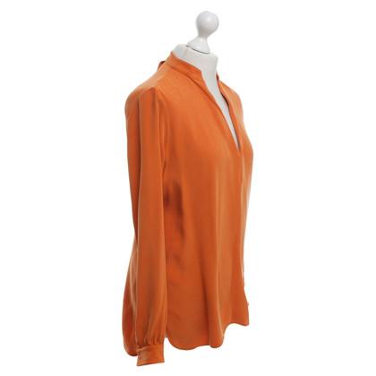 Joseph blouse en soie de satin