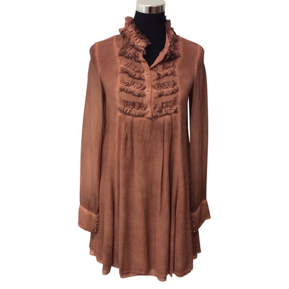 Patrizia Pepe Tunic in brown