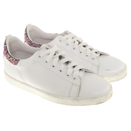 Maje Sneaker con finiture in paillettes