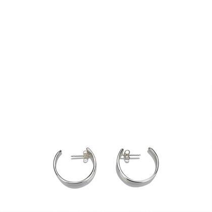 Gucci Silver Hoop Earrings