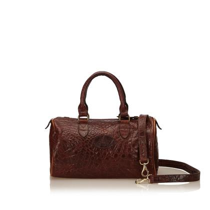 Mulberry Handtasche aus geprägtem Leder