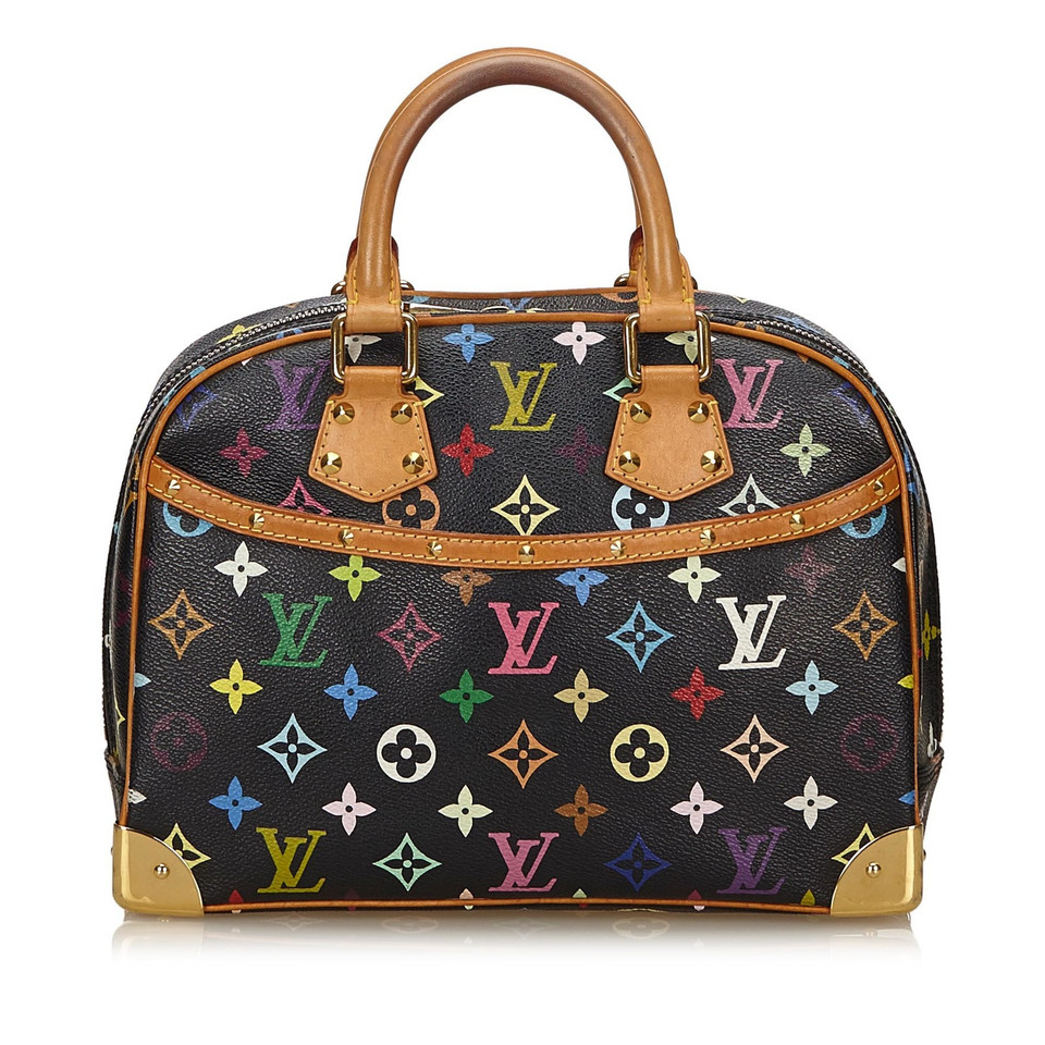 louis vuitton trouville monogram multicolore canvas buy second hand louis vuitton trouville. Black Bedroom Furniture Sets. Home Design Ideas