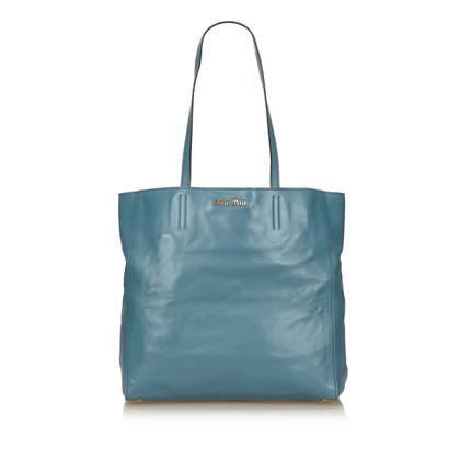 Miu Miu Tote Bag aus Leder