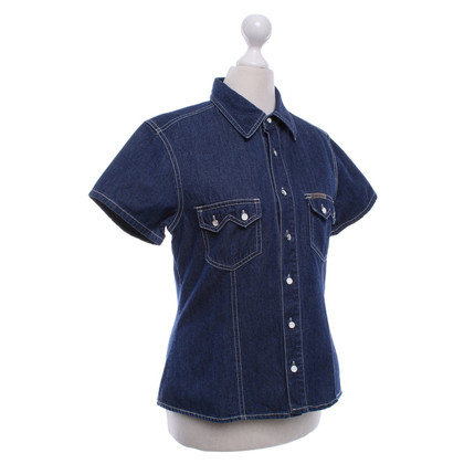 Calvin Klein Denim shirt in blauw