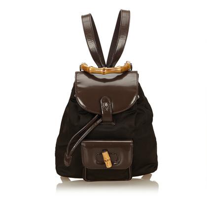 Gucci Bamboo Backpack