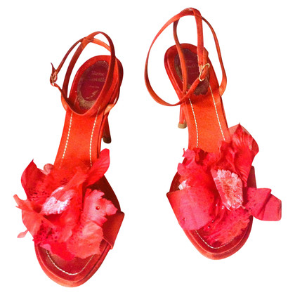 René Caovilla Sandals in red