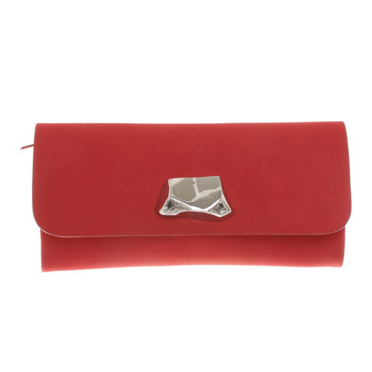 Acne clutch in red