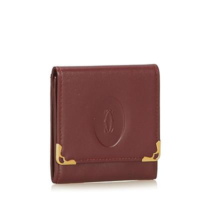 "Cartier ""Must-de-Cartier"" wallet"