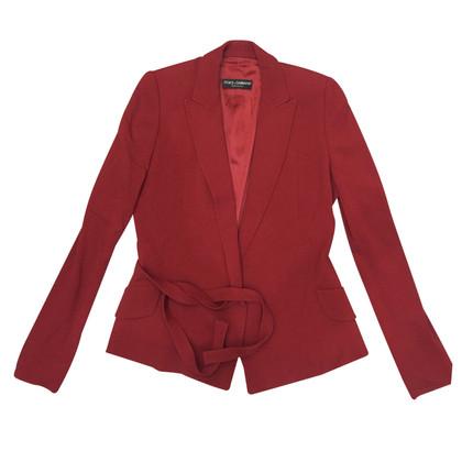 Dolce & Gabbana Blazer in Rot
