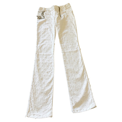 Christian Dior Witte jeans